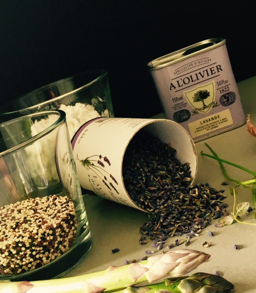 quinoa lavendel